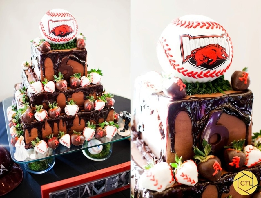 Arkansas Razorbacks Baseball on Cake Central