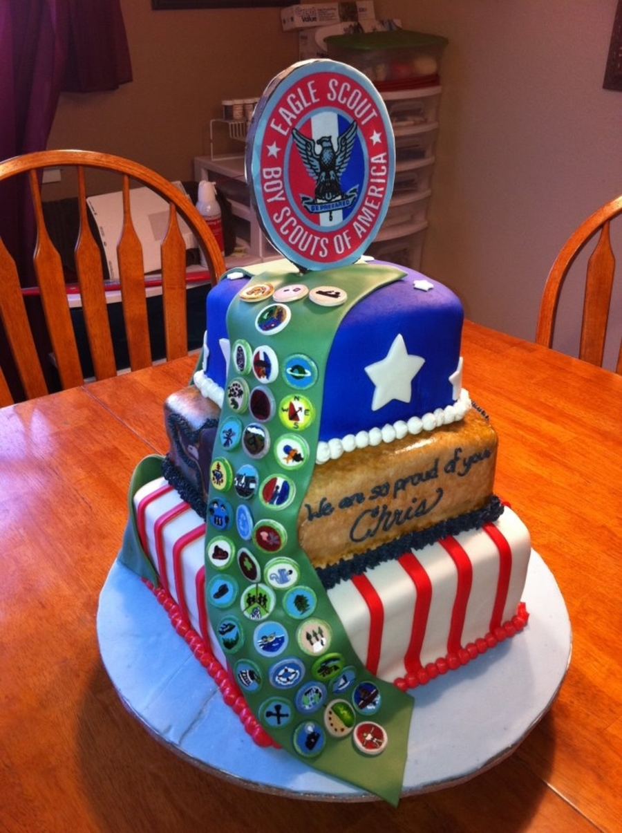eagle scout cake eagle scout cake cakecentral 3783