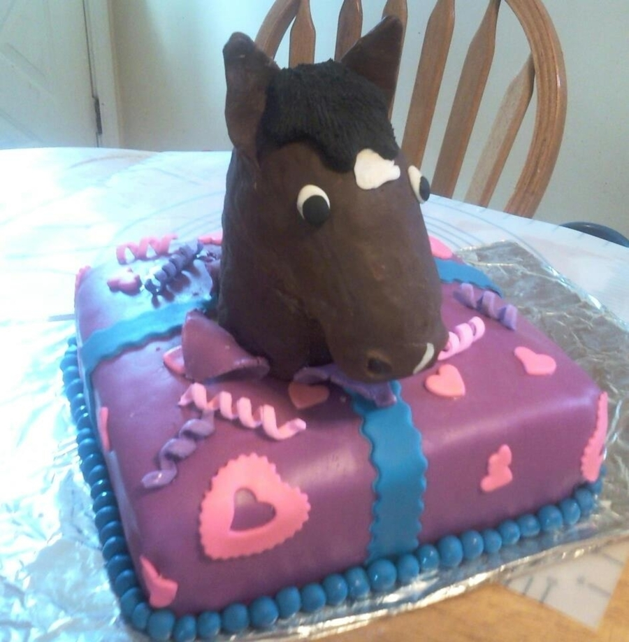 Horse Birthday Gift  on Cake Central