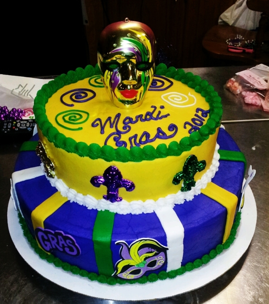 Mardi Gras! on Cake Central