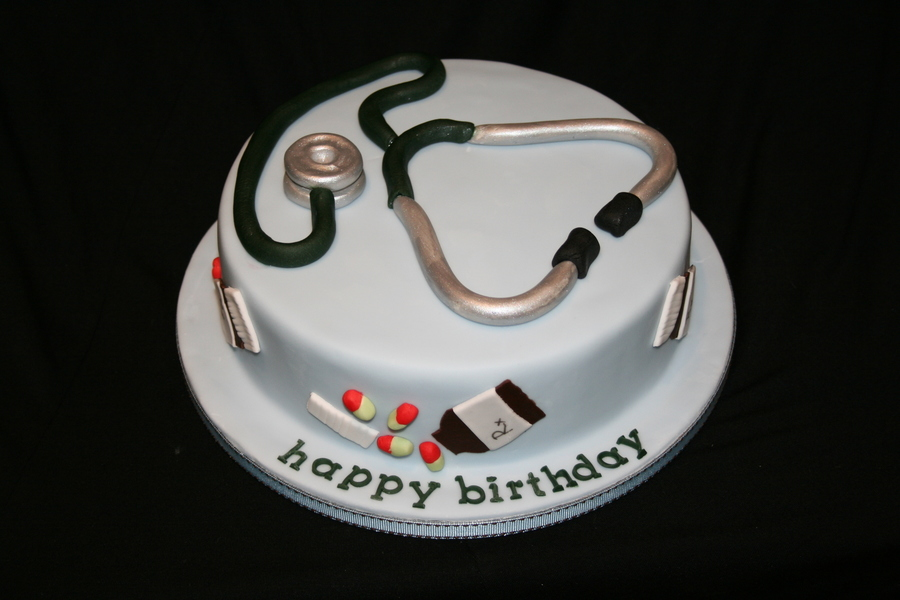 Birthday Cakes Pictures For Doctors : Doctor Cake - CakeCentral.com