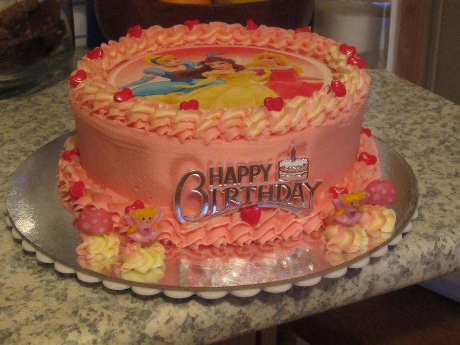 4th Birthday Disney Princess Birthday Cake Cakecentral Com