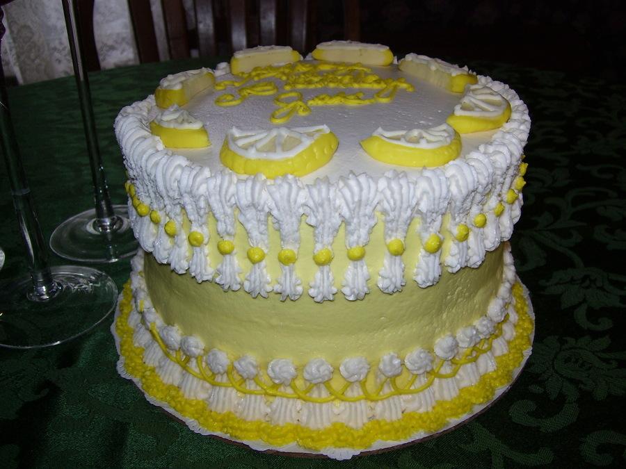 Lemon Pound Cake Made With Sour Cream