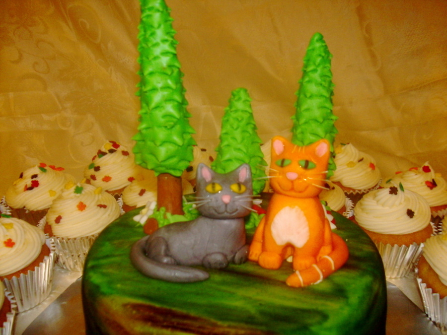 Warrior Cats Cake Cakecentral