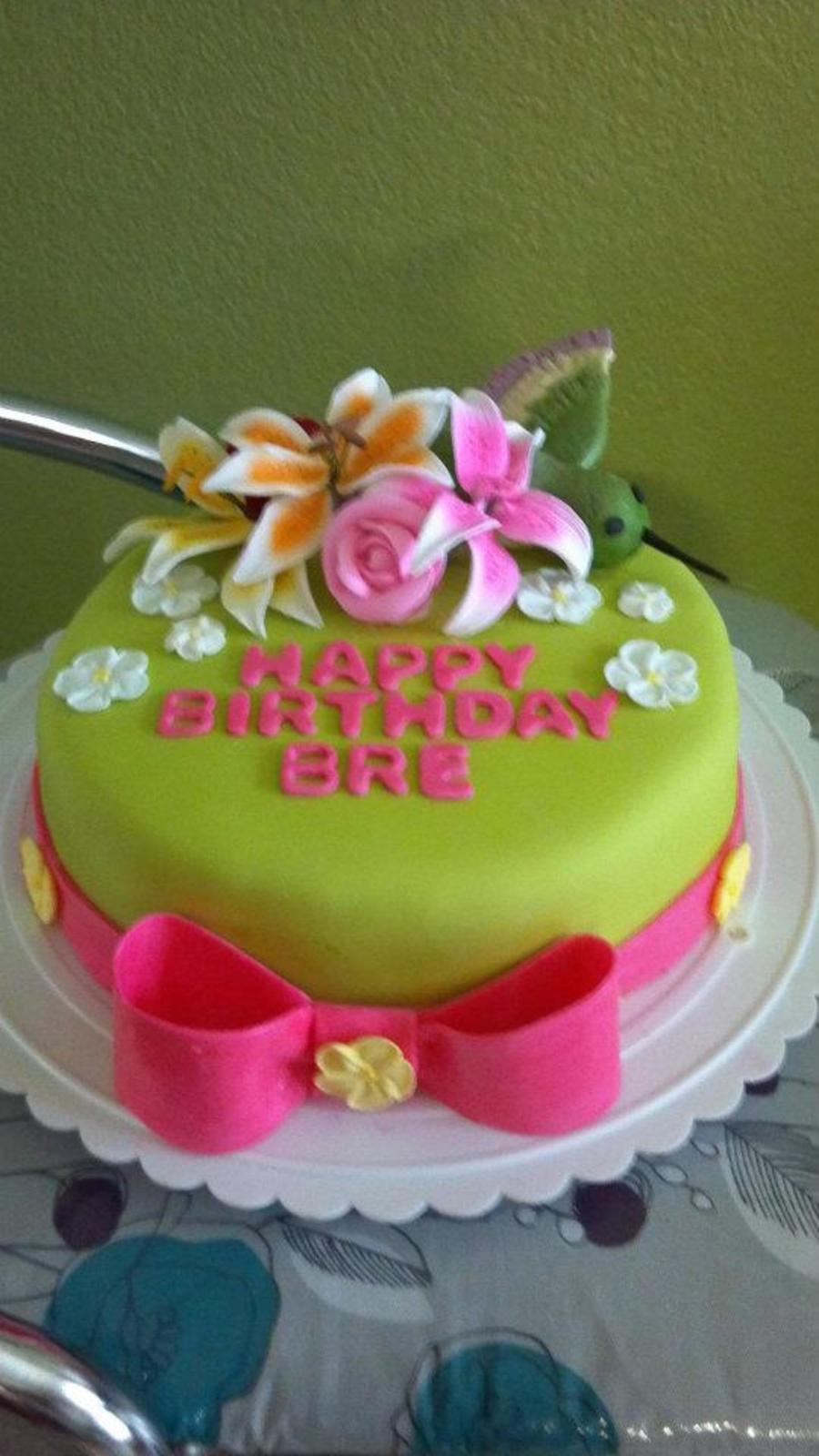 Awesome Hummingbird Birthday Cake Cakecentral Com Funny Birthday Cards Online Necthendildamsfinfo