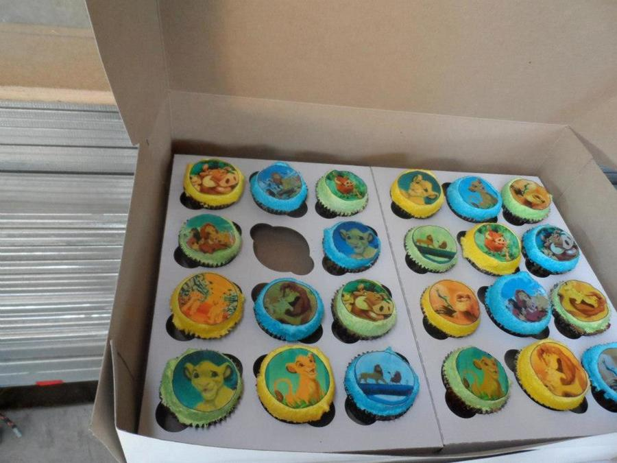 Lion King Cupcakes on Cake Central