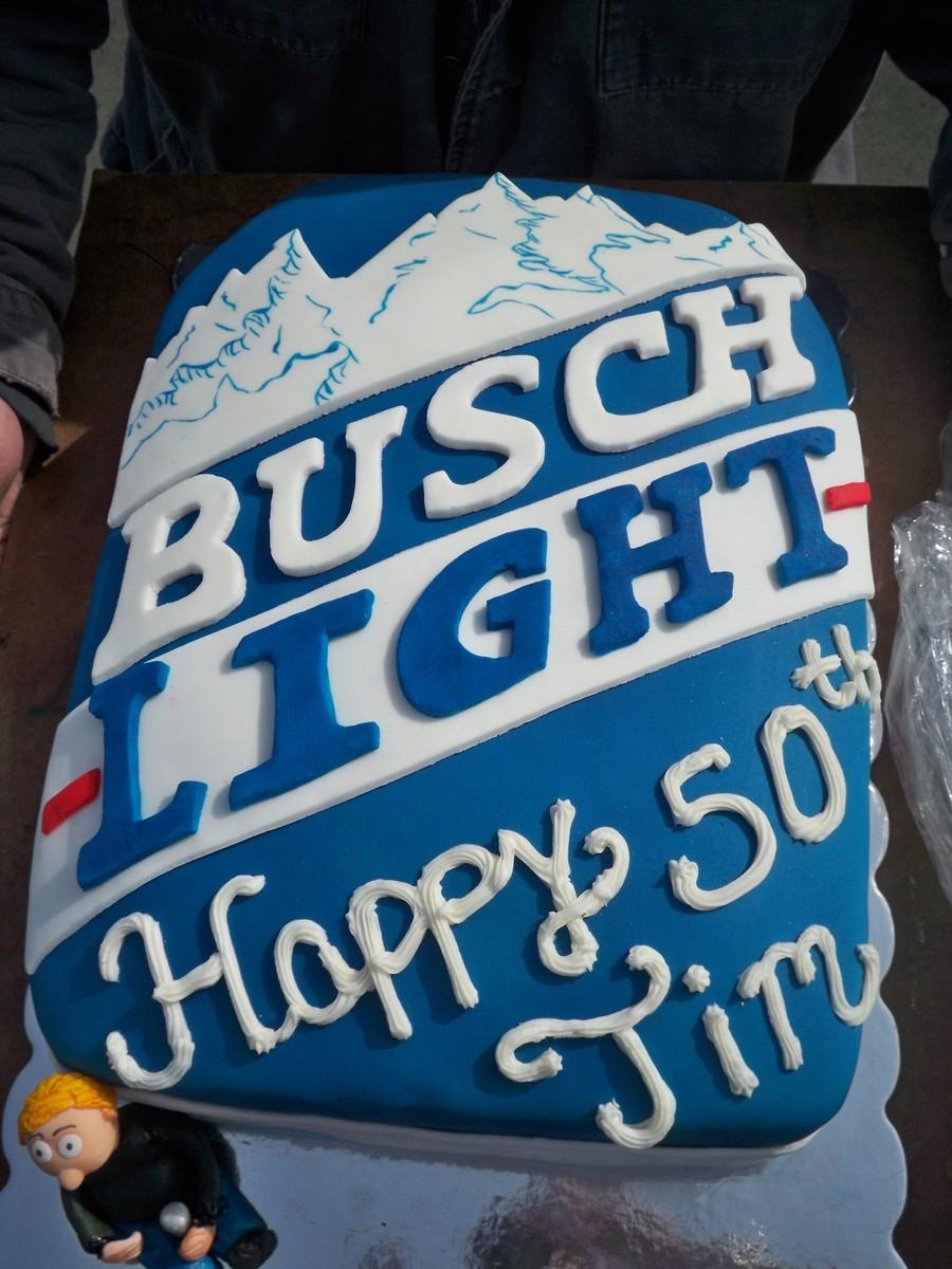 Busch Lite Beer Cake Cakecentral Com