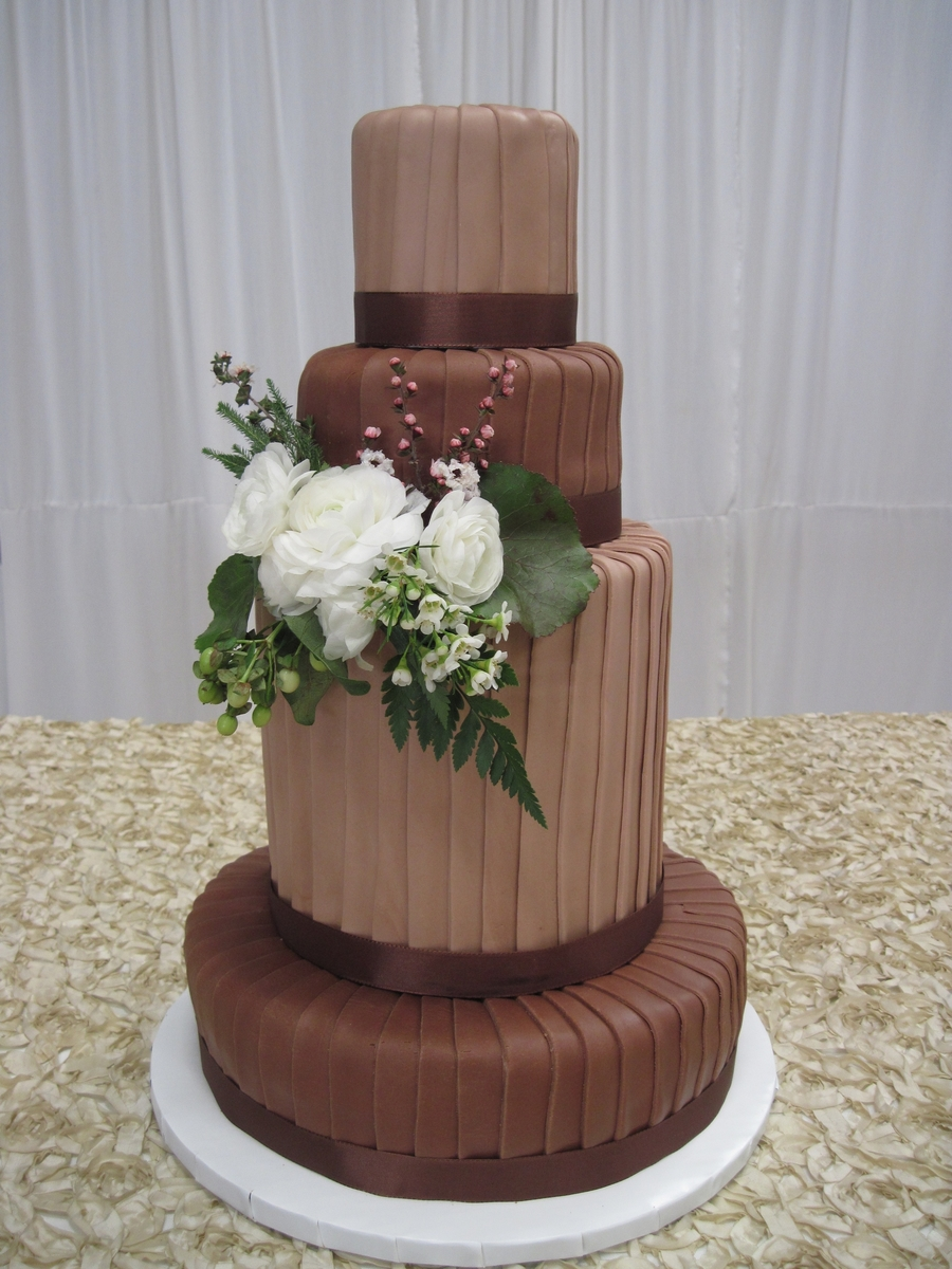 Leather Tall Cake on Cake Central