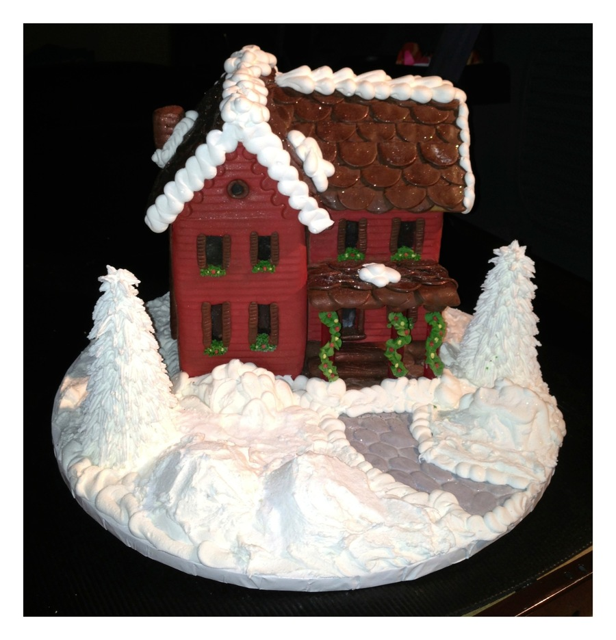 Gingerbread Wonderland on Cake Central