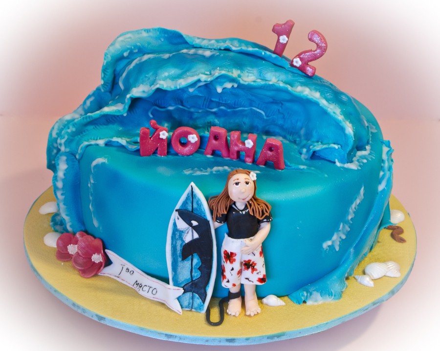 Waves And Surf on Cake Central