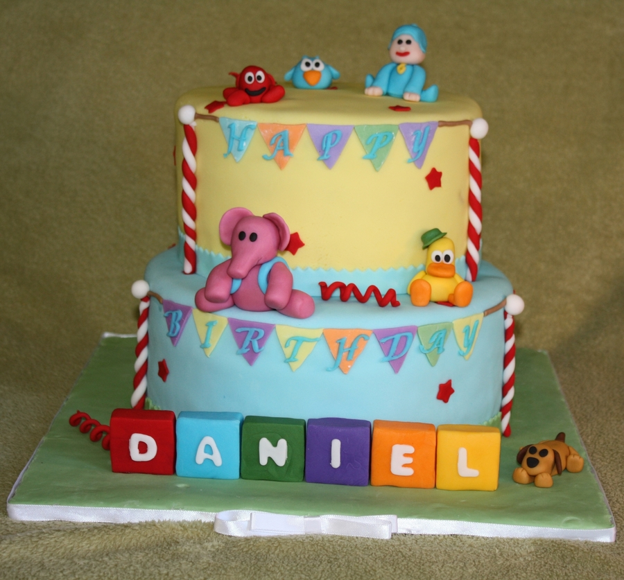 Pocoyo And Friends Cake on Cake Central