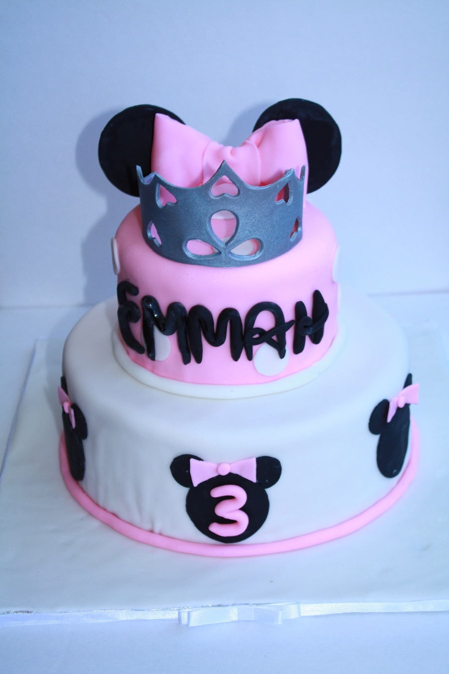 Princess Minnie Mouse Cake on Cake Central
