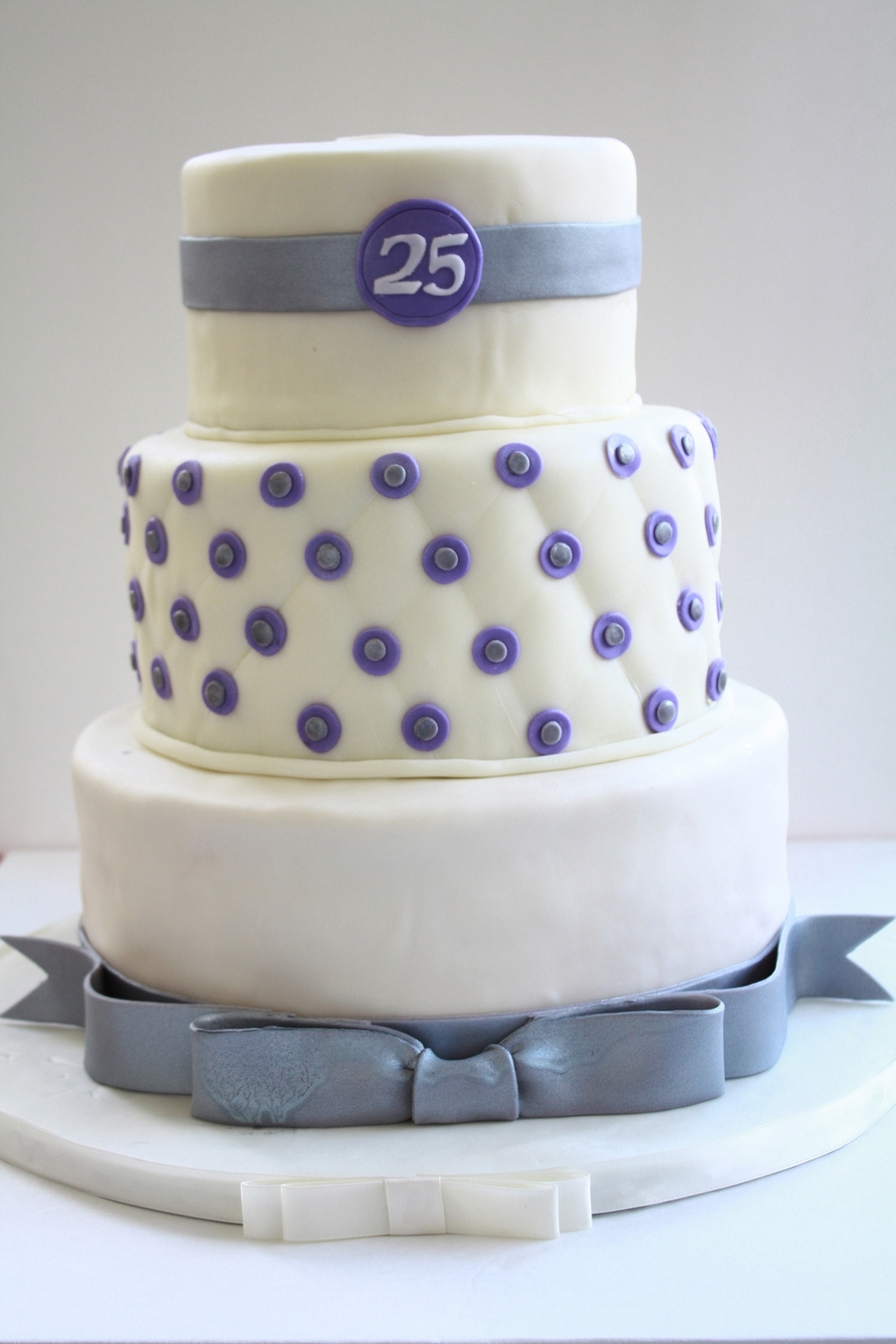 25Th Anniversary Cake  on Cake Central