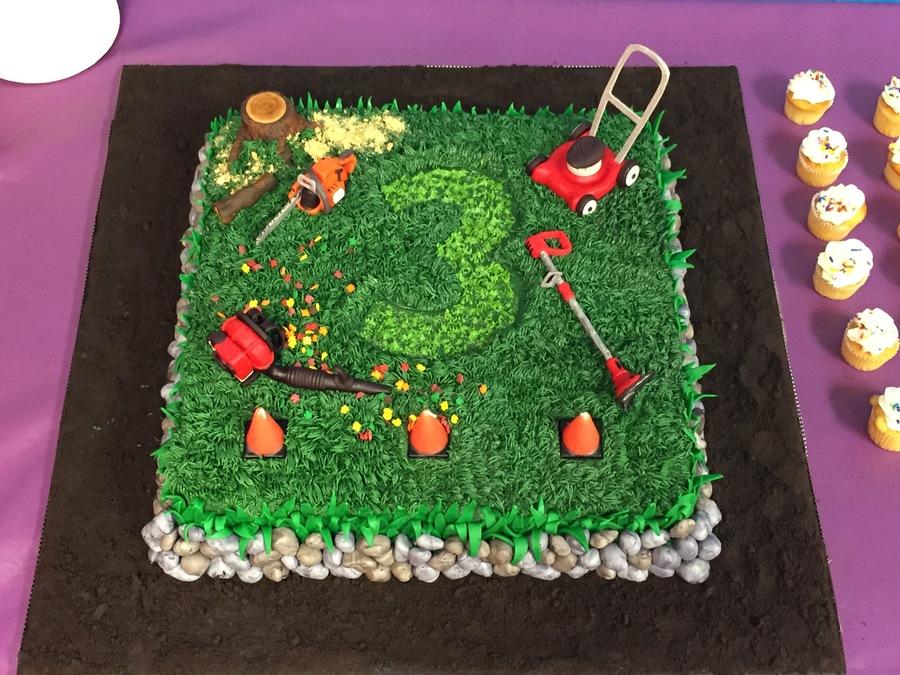 Gardening Cake Decorating Ideas