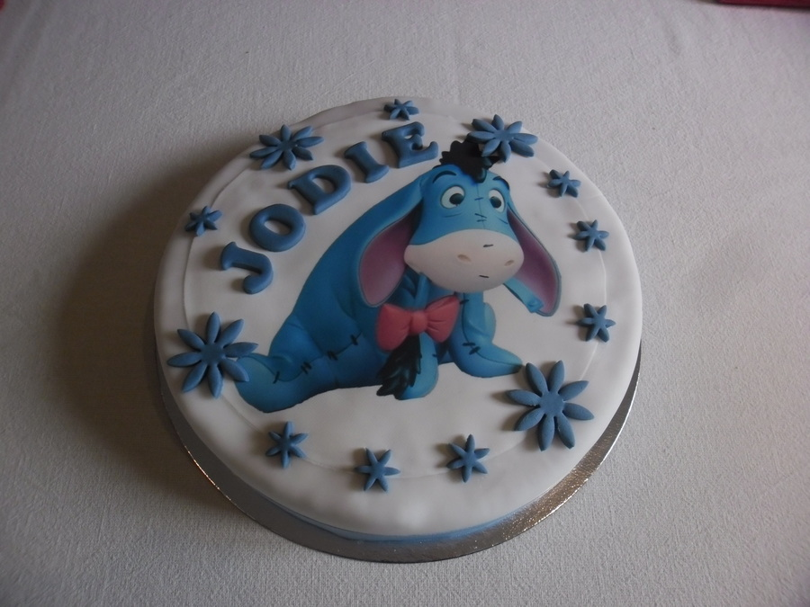 Miraculous Eeyore Birthday Cake Cakecentral Com Funny Birthday Cards Online Inifofree Goldxyz