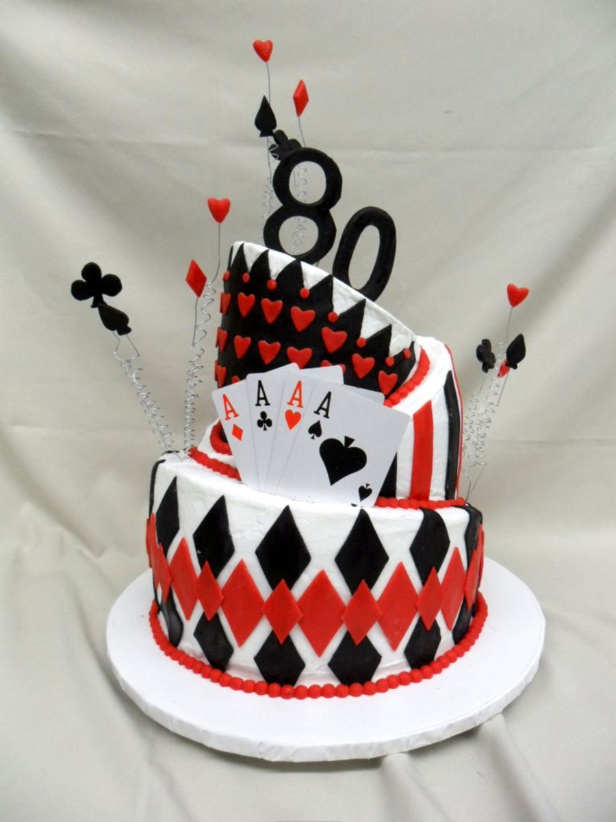 Queen Of Hearts Topsy Turvy on Cake Central
