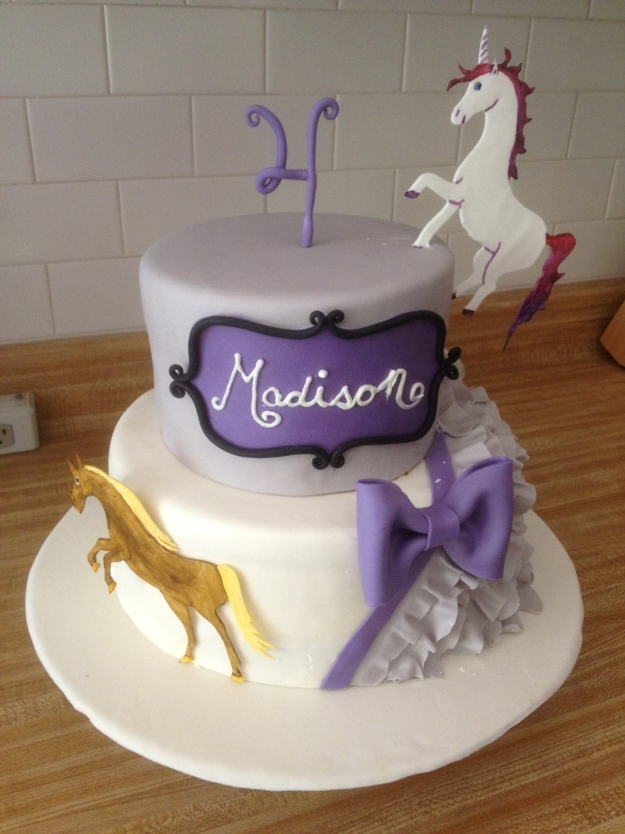 Horse/unicorn Cake on Cake Central