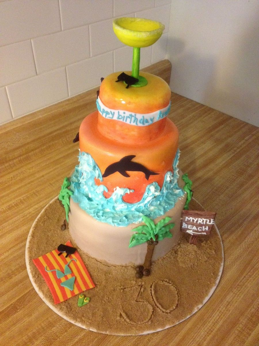 Sunset Beach Cake Cakecentral