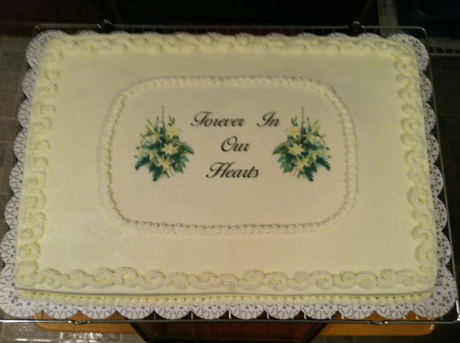 Funeral Cake Ideas