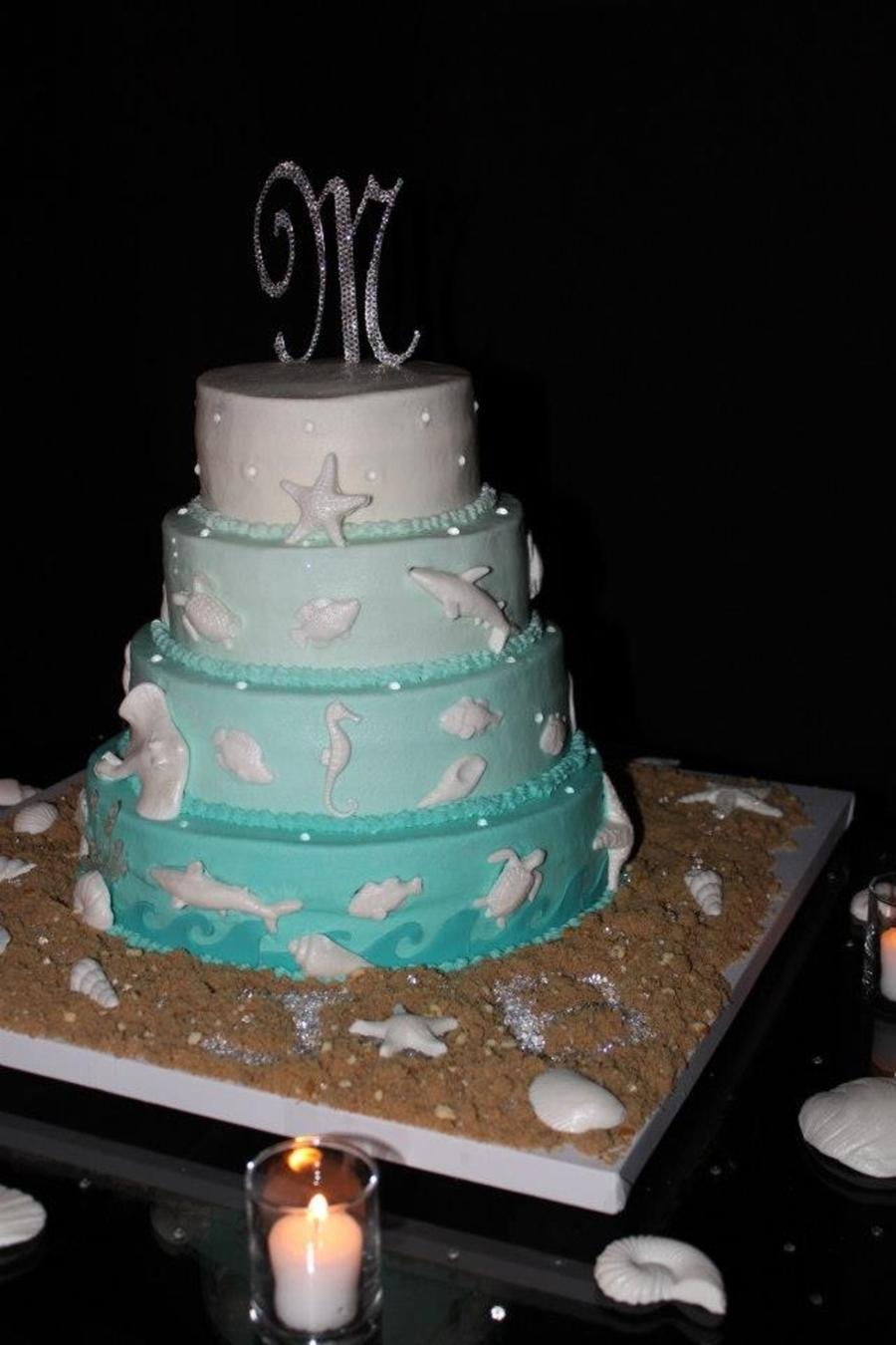 Pound Cake Wedding Cake
