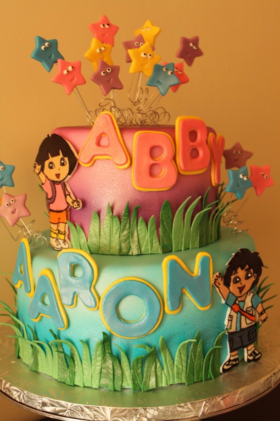 Dora And Diego Cake Cakecentral Com