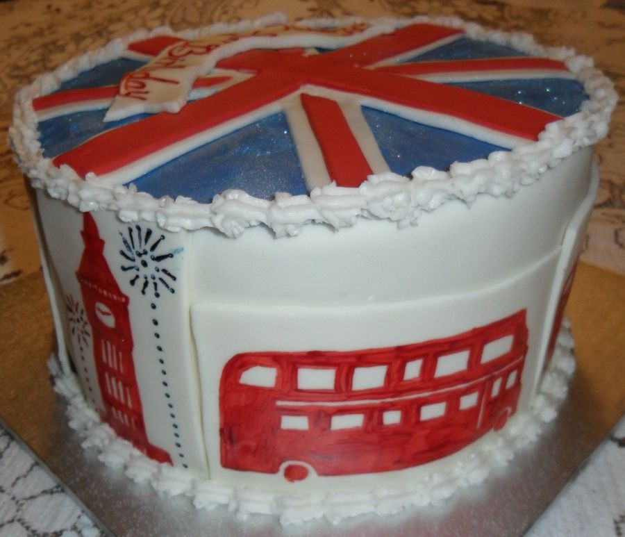 A Very British Birthday Cakecentral