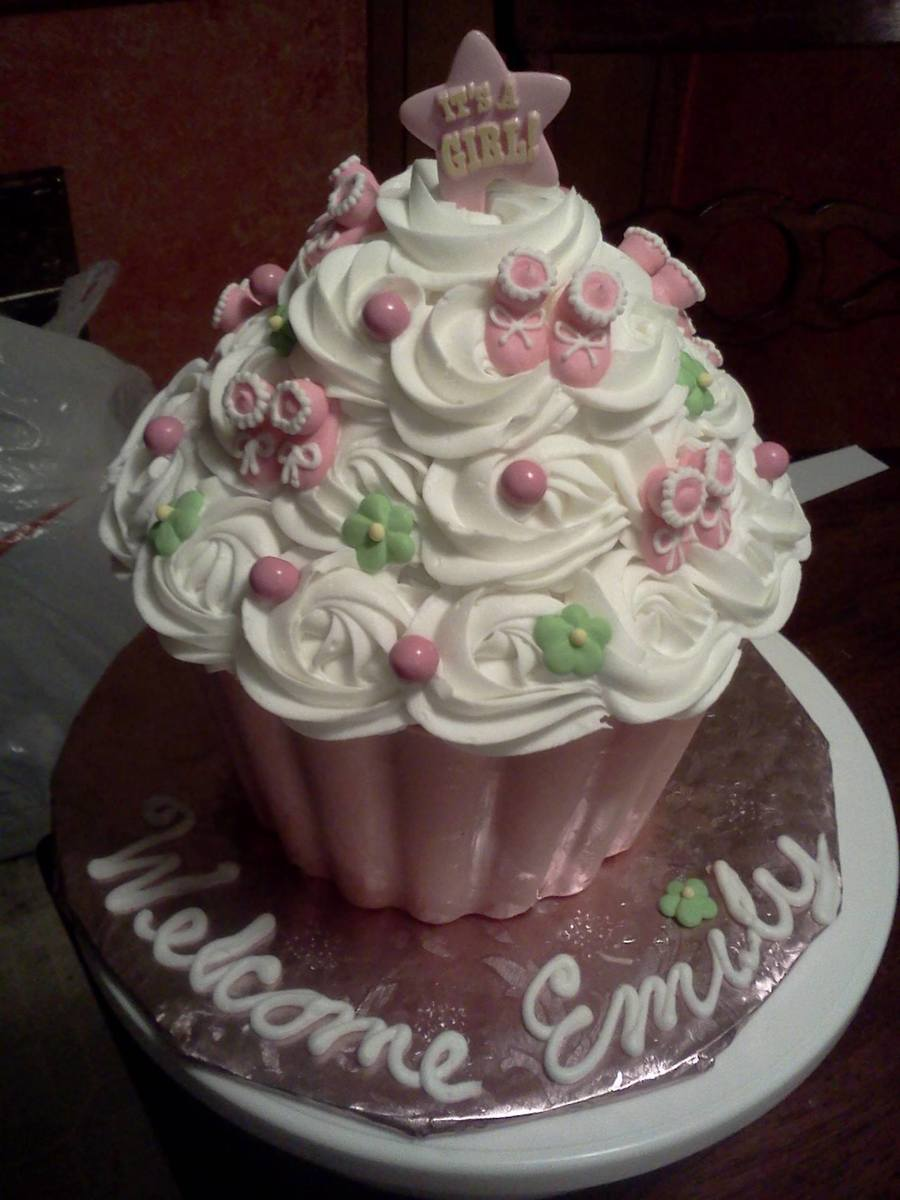 Baby Shower For Baby Girl The Bottom Is Pink Chocolate