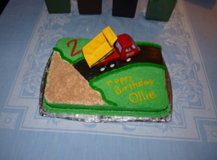 Dump Truck Birthday on Cake Central