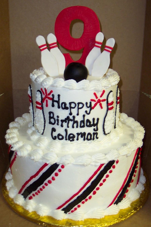 Bowling Cake Cakecentral Com