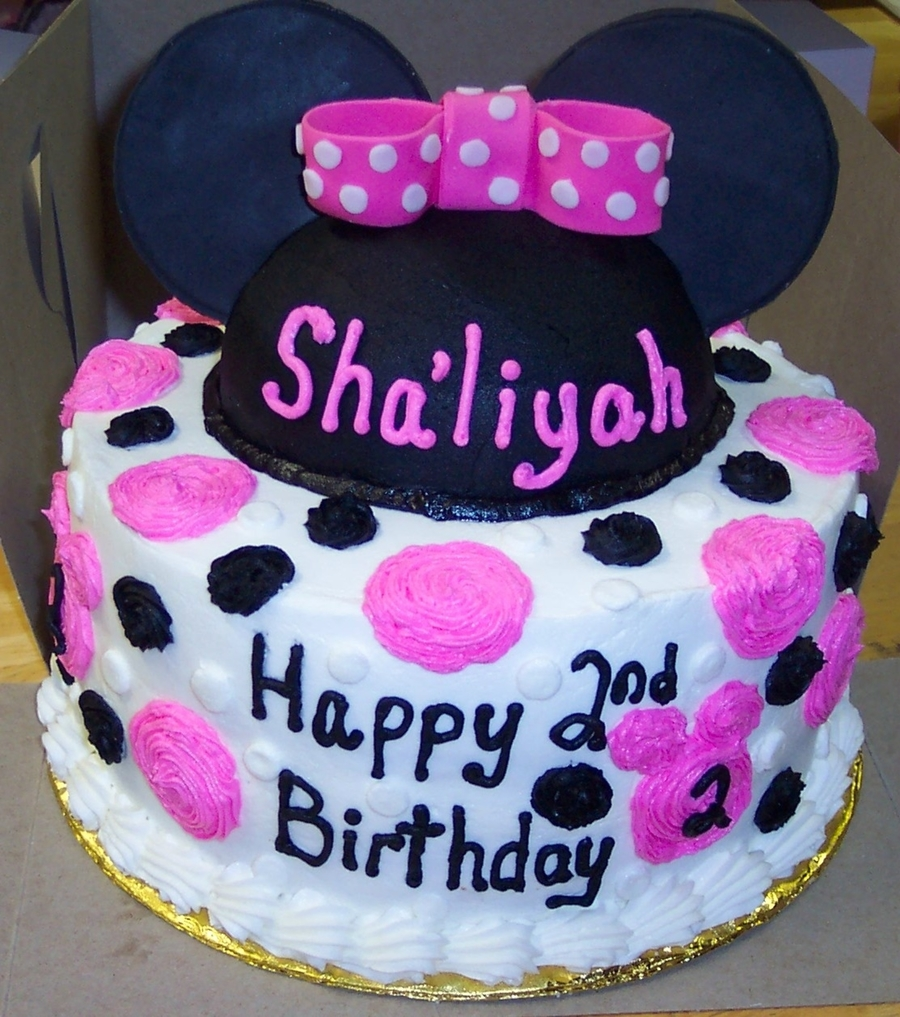 Minnie Mouse Hat Cake on Cake Central