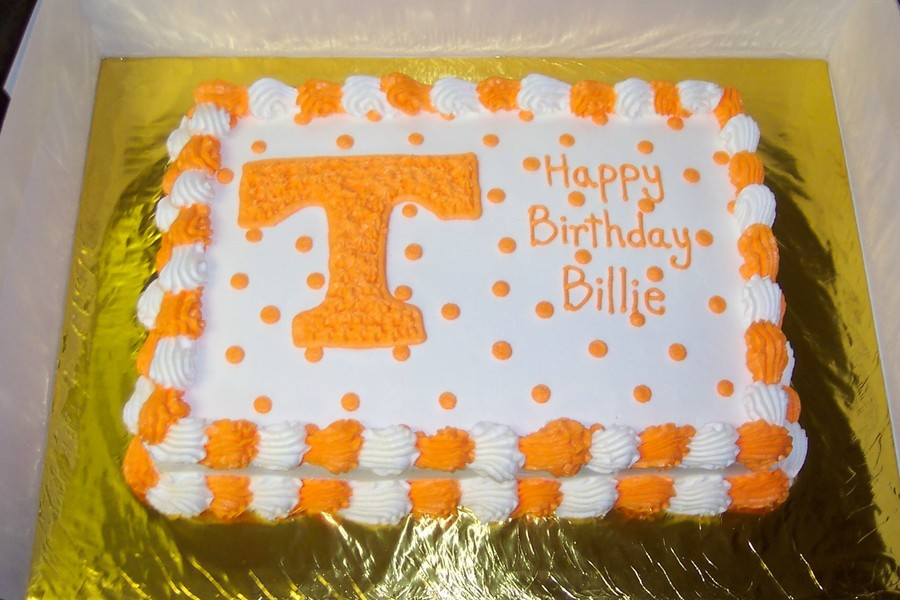 Tennessee Vols Cake Cakecentral Com