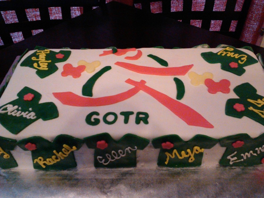 Girls On The Run Cake on Cake Central