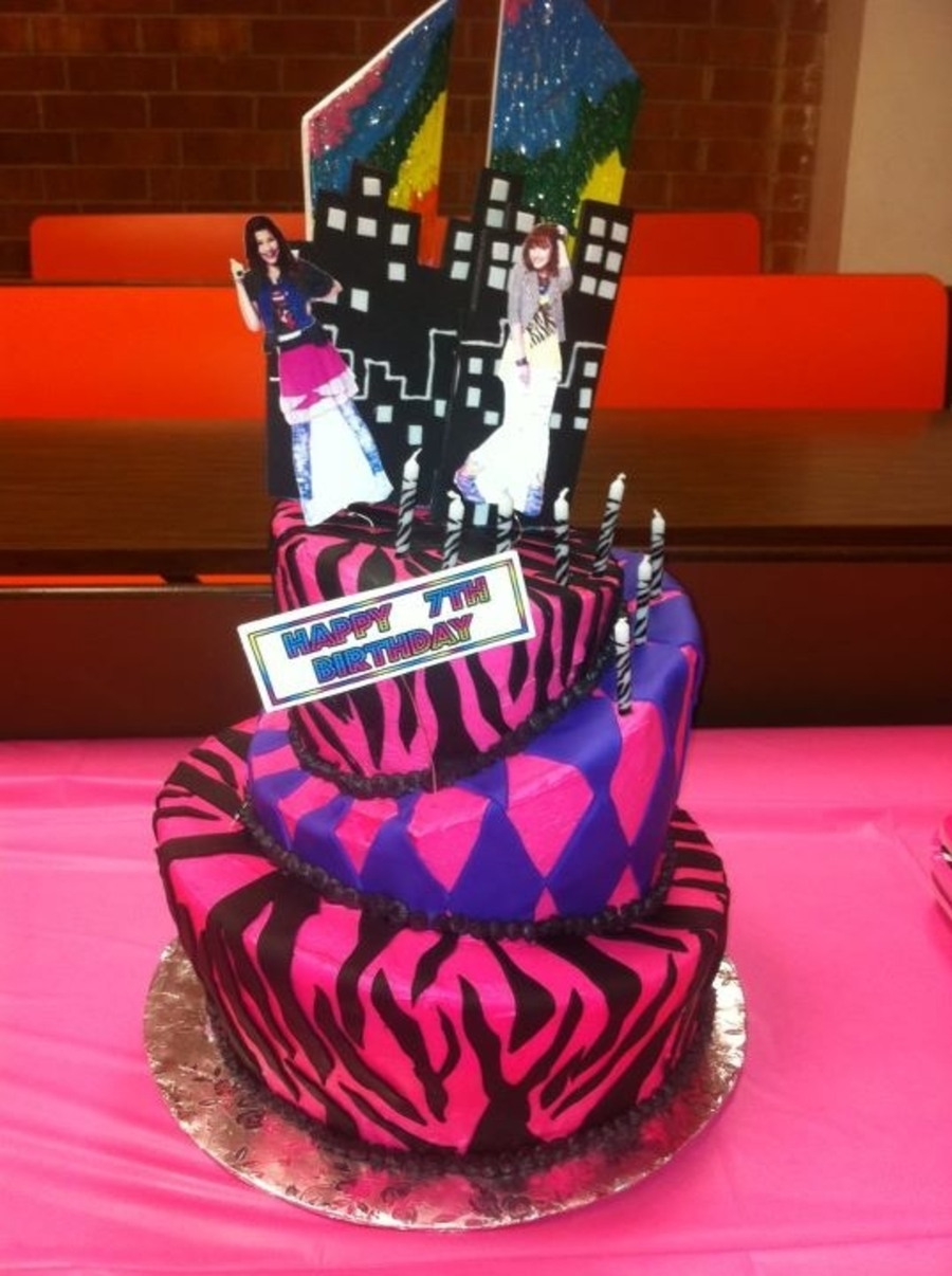 Topsy Turvy Shake It Up Birthday Cake on Cake Central
