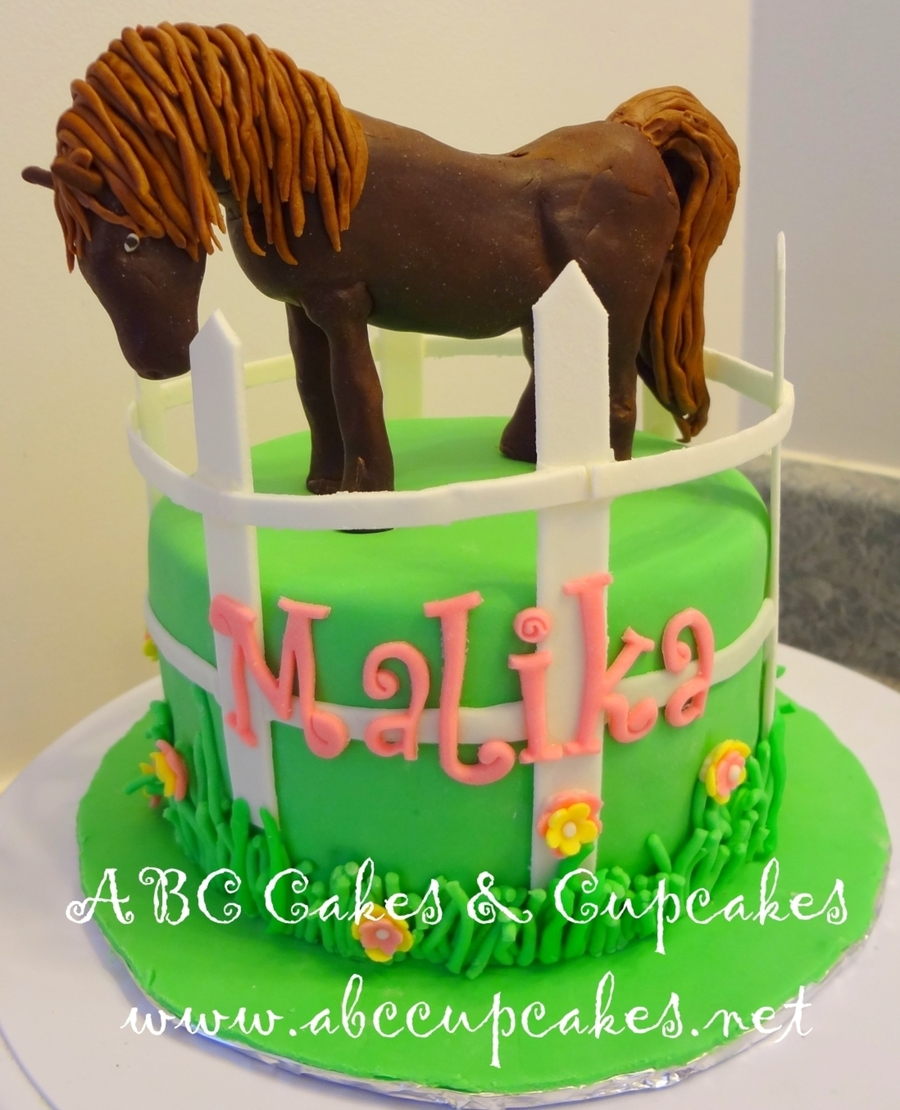 Brown Horse Cake on Cake Central
