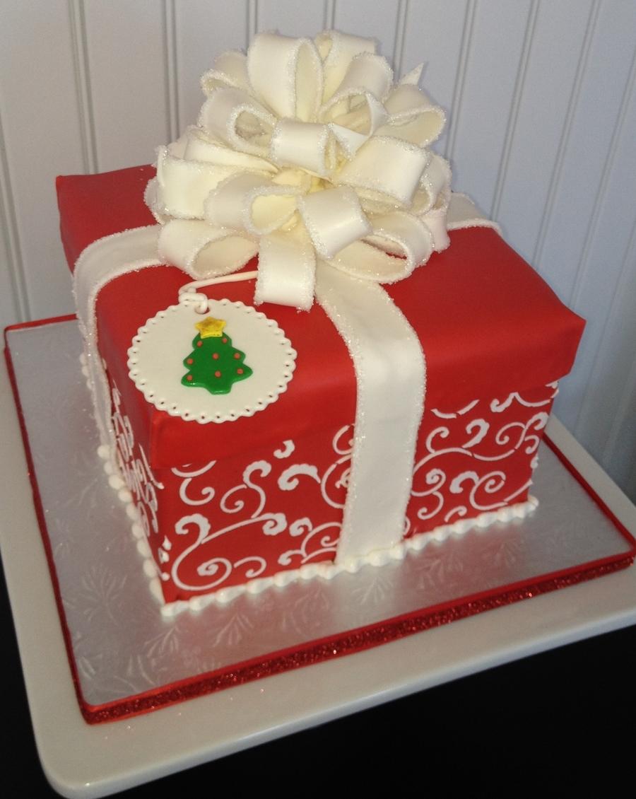 christmas cake gift