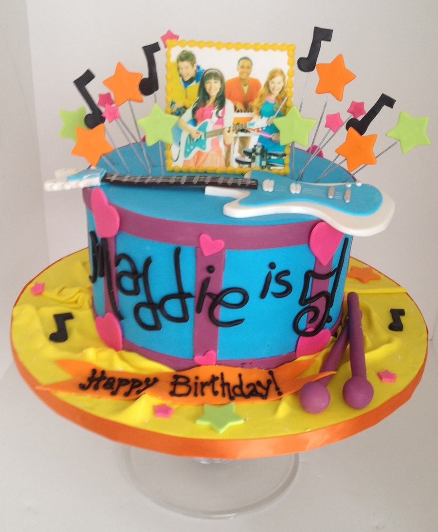 Fresh Beat Band Cake on Cake Central