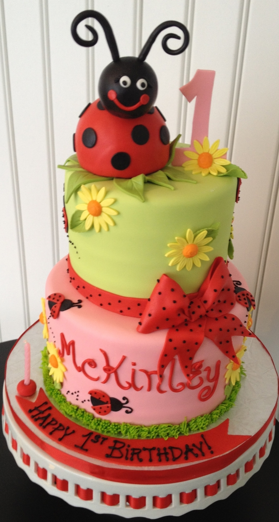 Birthday Cake Images Lady : Lady Bug 1St Birthday Cake - CakeCentral.com