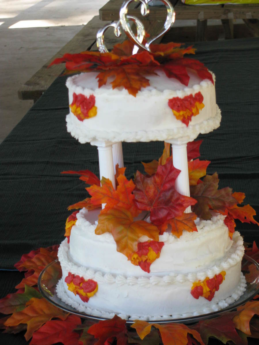 Fall Anniversary on Cake Central