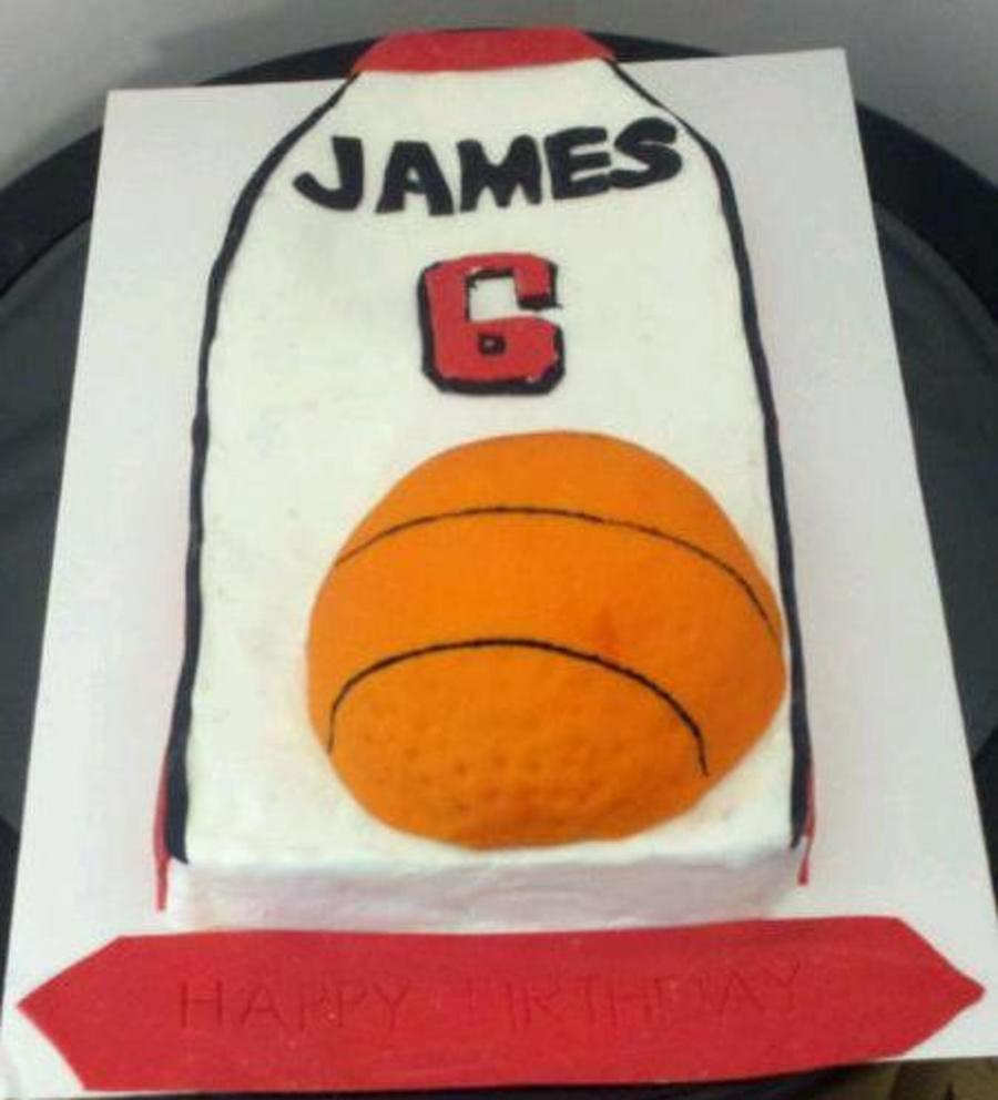 Lebron James Cake Recipe