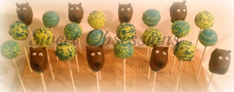 Scooby Doo Cake Pops on Cake Central