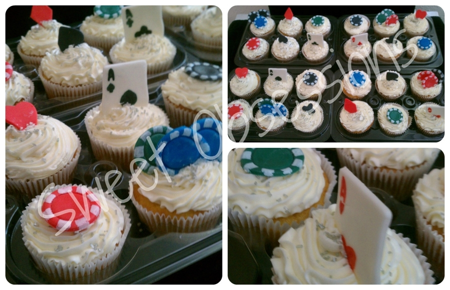 Poker Theme Cupcakes on Cake Central