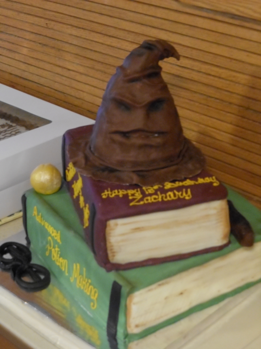 Harry Potter Birthday Cake CakeCentralcom