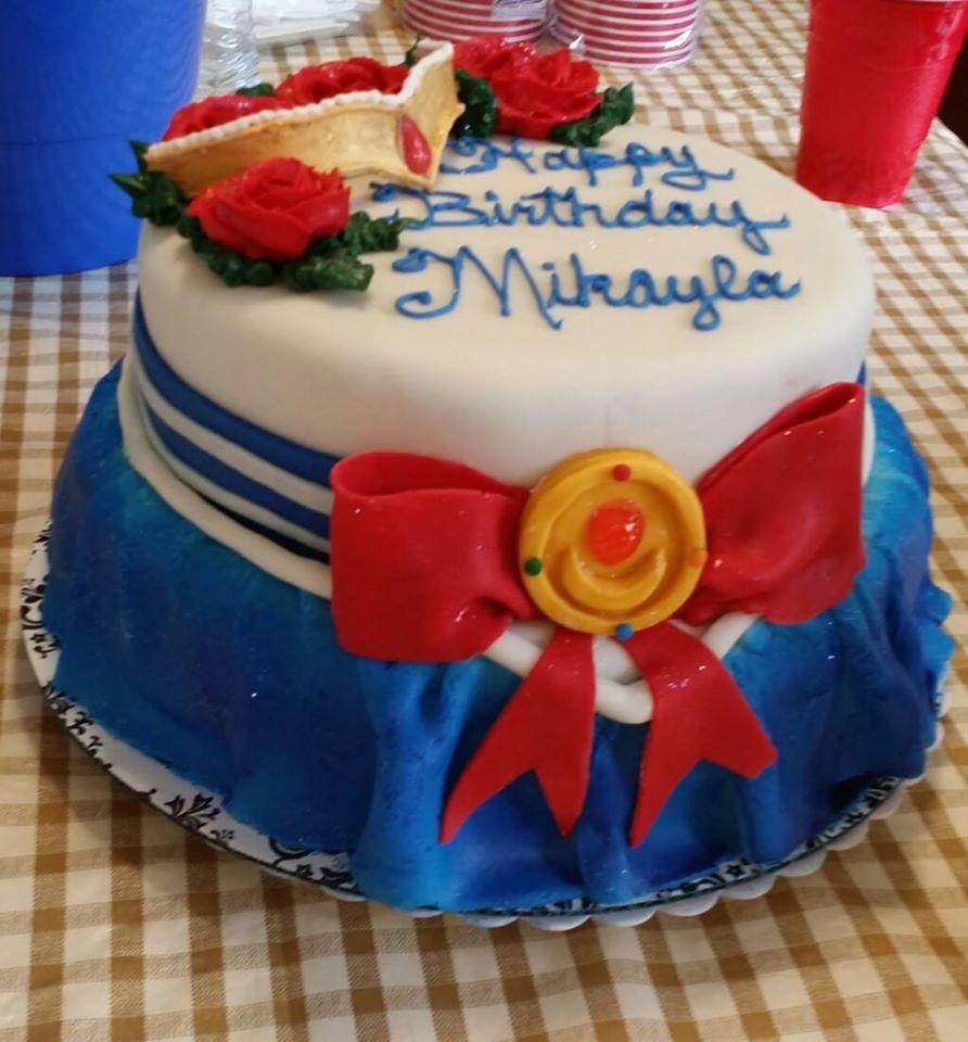 Sailor Moon Wedding Cake