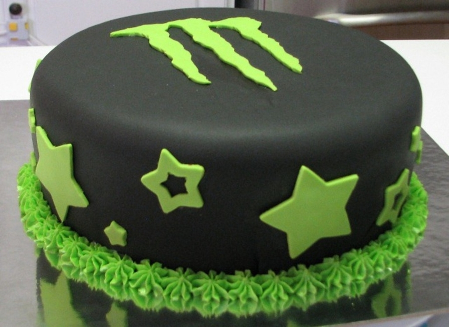 Monster Energy Cake Recipe