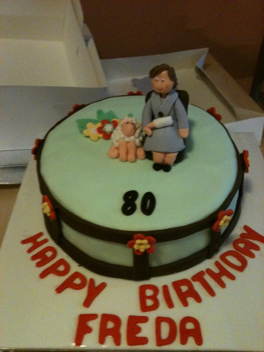 80Th Birthday Cake on Cake Central