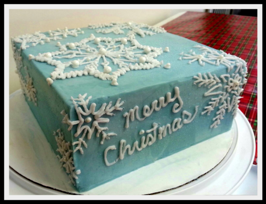 Let Is Snow on Cake Central