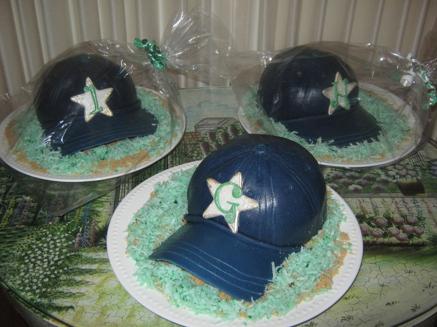 Ball Cap Cakes on Cake Central