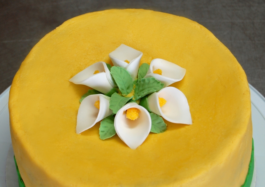 Calla Lilies For Mother's Day on Cake Central