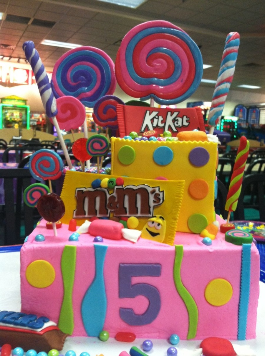Candy Cake4 on Cake Central