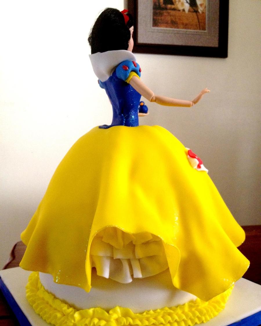 Snow White Dress Cake